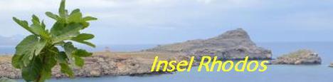 Reiseinformationen Insel Rhodos - Griechenland
