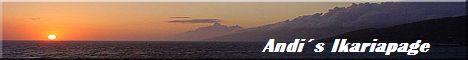 Schöne Website mit Informationen zur Insel Ikaria